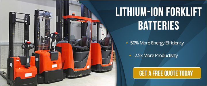 lithium-ion forklift battery