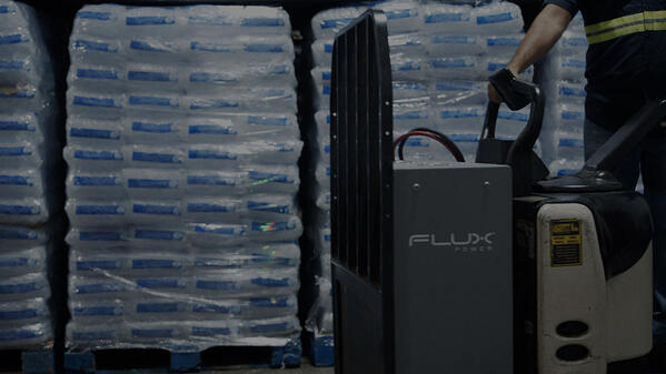 Arctic-Glacier-Flux Power-forklift-battery