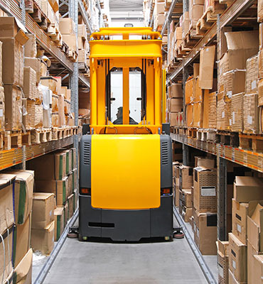 Narrow-Aisle-Forklift