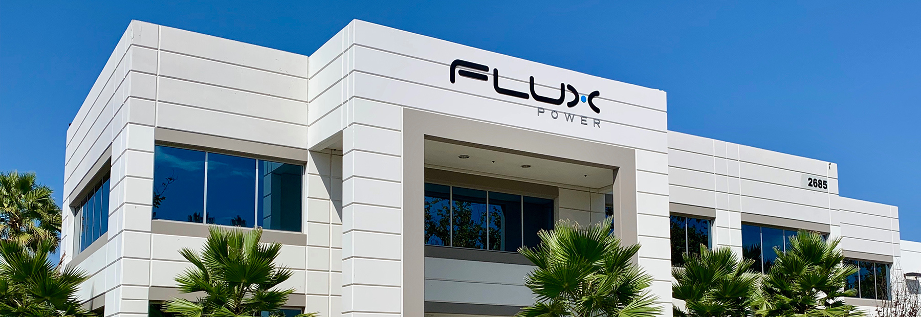Flux-Power-New-Building-front